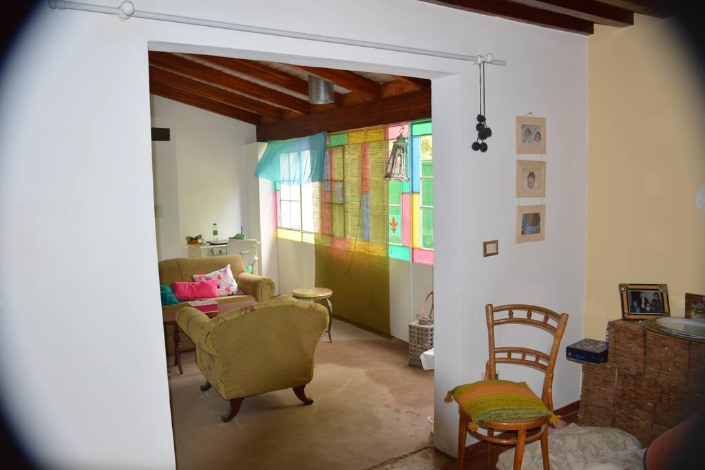 Living-dormitorio