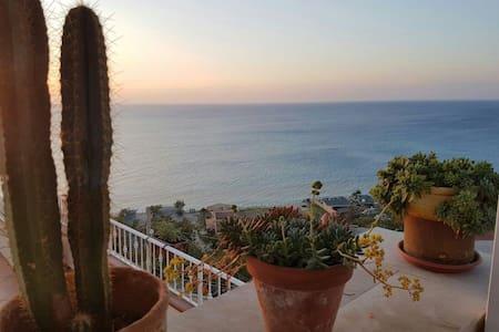 Balcony sea view center&beach close - Tropea - Andet