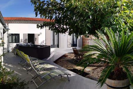 Belle Maison 3 chbres, Spa, 300m plage, plein sud - Rivedoux-Plage - Hus