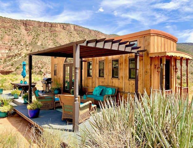 The Ark tiny house near Zion National Park