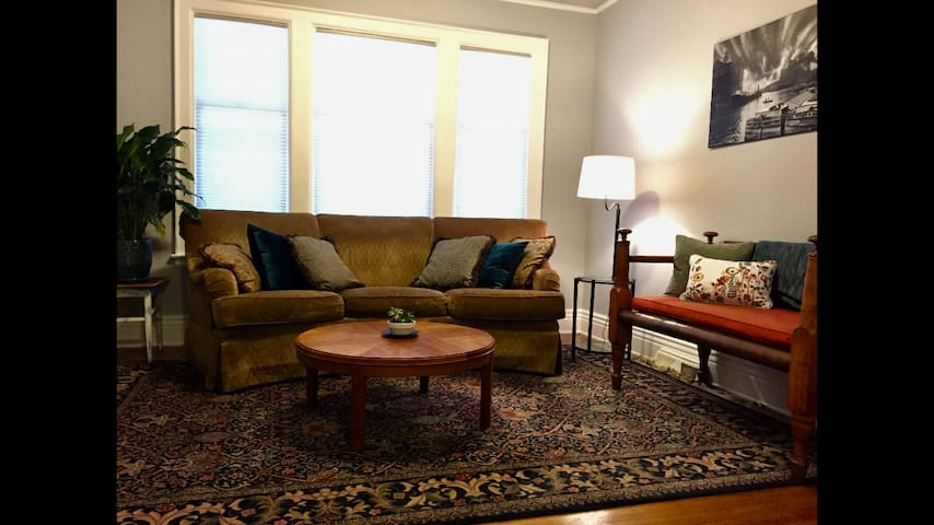 Spacious Two Bedroom Apartment in Elmwood Village