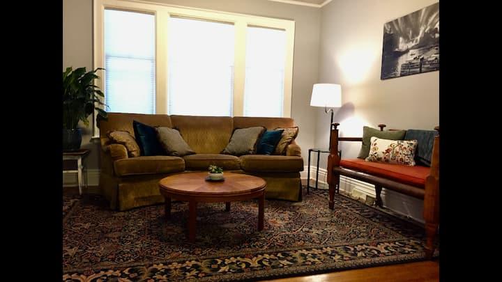 Spacious Two Bedroom Apartment in Elmwood Village