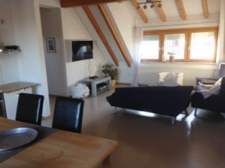 sch nes wohnen ber der b ckerei apartments for rent in erlenmoos baden w rttemberg germany. Black Bedroom Furniture Sets. Home Design Ideas
