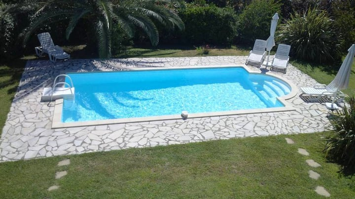 Villa with 3 bedrooms in Solaro, with private pool, enclosed garden and WiFi - 200 m from the beach