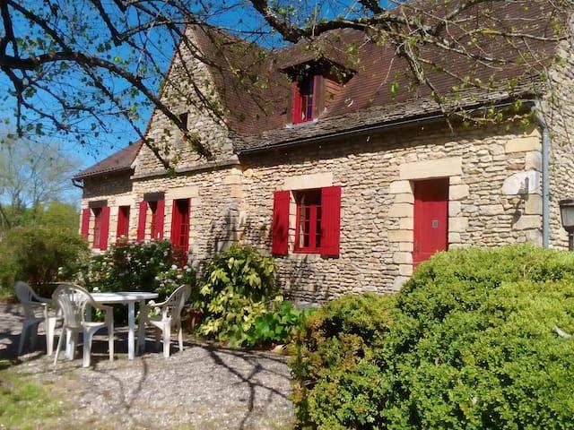 Au jardin,Desmouret- sud - Sarlat-la-Canéda - House
