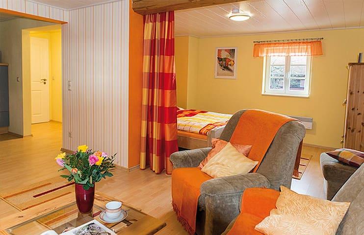 Rhönhof LebensArt (Friedewald) -, Ferienwohnung, 30qm, 1 Wohn-/Schlafraum, max. 2 Personen, Aufbettung möglich