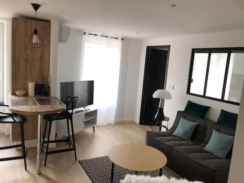 Bel appartement T2 moderne et cosy avec garage