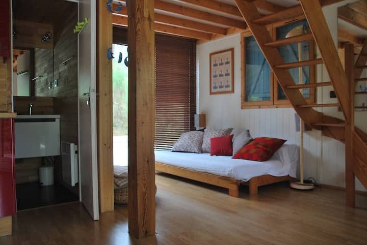 Domaine résidentiel Naturiste LA JENNY- Chalet 6E