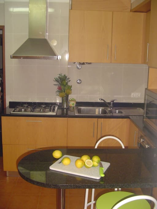 kitchen, Apartments Marcelino