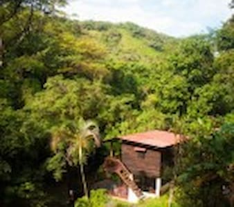 Mamallena Eco Lodge - Private Room With River View - Anton Valley