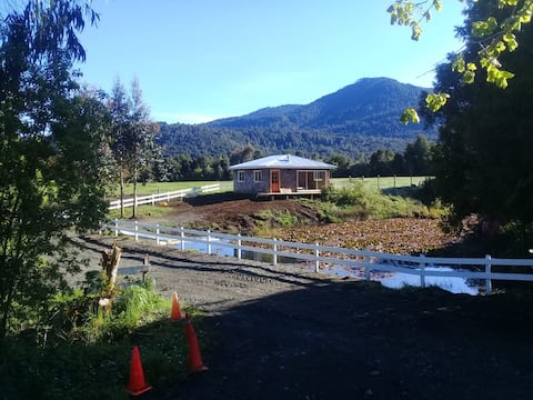 Cabaña de Lotos cerca del bosque nativo