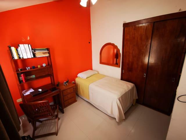 Habitación confort, limpieza y serenidad