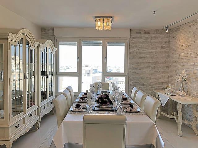 Kosher Pesach 2 Floor Penthouse near Ganei Geula