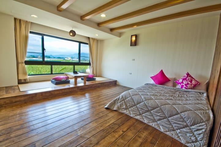陶藝  體驗民宿-山景2人套房