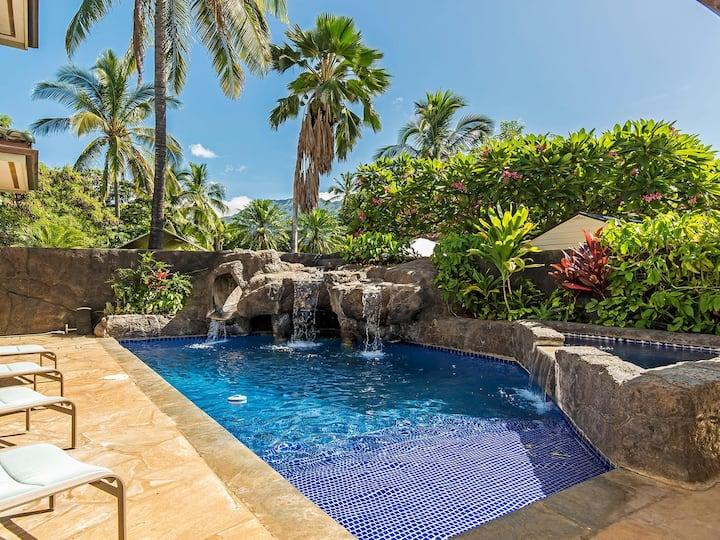Stately, Luxurious Ohana Beach Guest home w/ Pool!