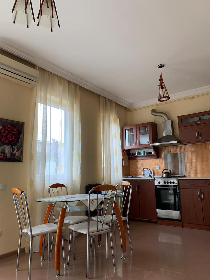 Beautiful apartment near the black sea KOBULETI
