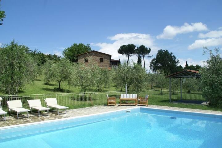 Tuscany Chianti Villa and Apartments Agritourism - Castelnuovo dei Sabbioni - Apartment