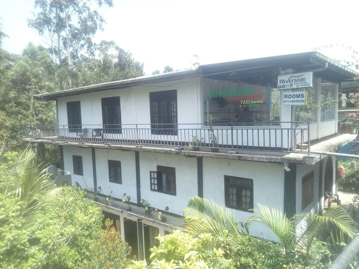 River side guest (family,backpacker& friends room)