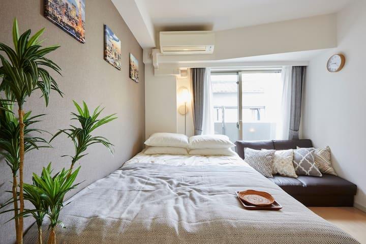 Asakusa/Ueno/Akihabara, + Free Mobile WiFi #YS1 - Taito-ku - Apartment