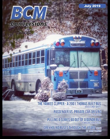 Featured in the July 2019 Issue of Bus Conversion Magazine.