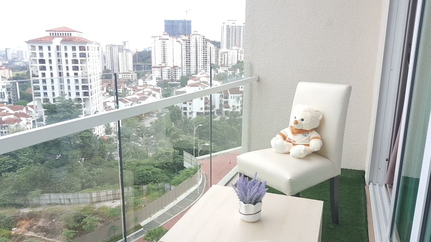 5 mins to Midvalley, 3-4 Pax Service Suites, KL - Kuala Lumpur - Wohnung