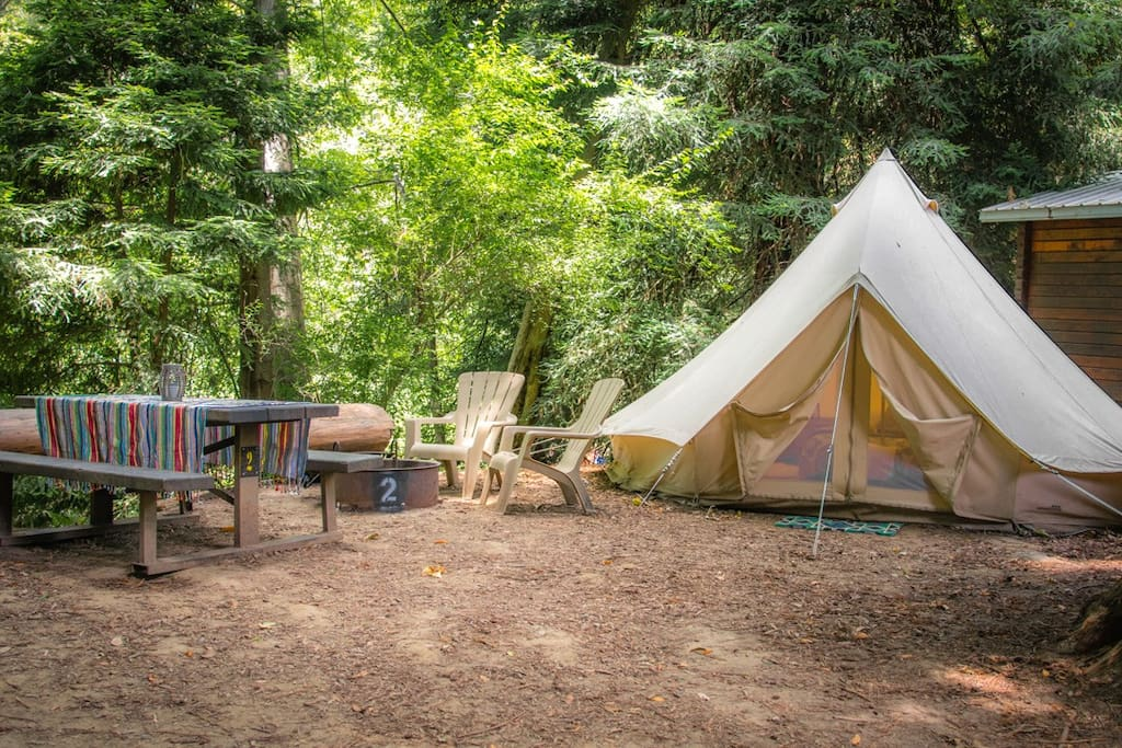 Big Sur Glamping Tents For Rent In Big Sur California