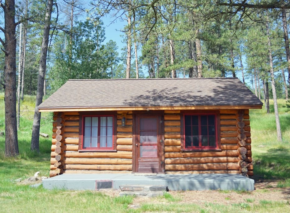 Morris place cabin 1 cabins for rent in custer south for Cabins near custer sd