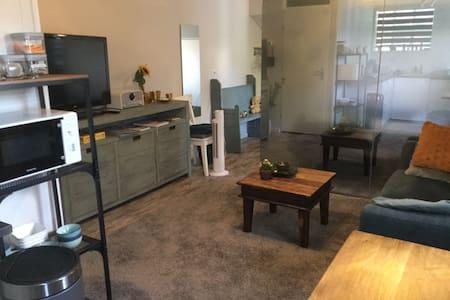 Een appartementje in een prachtige rustig omgeving