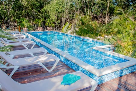 New and comfortable bungalow with breakfast! - Tulum