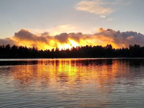 Serene Shadow Lake - Studio - Healthy Safe