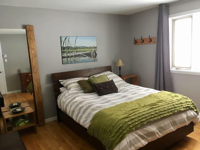 Chambre chaleureuse en nature - Stoneham-et-Tewkesbury - Huoneisto