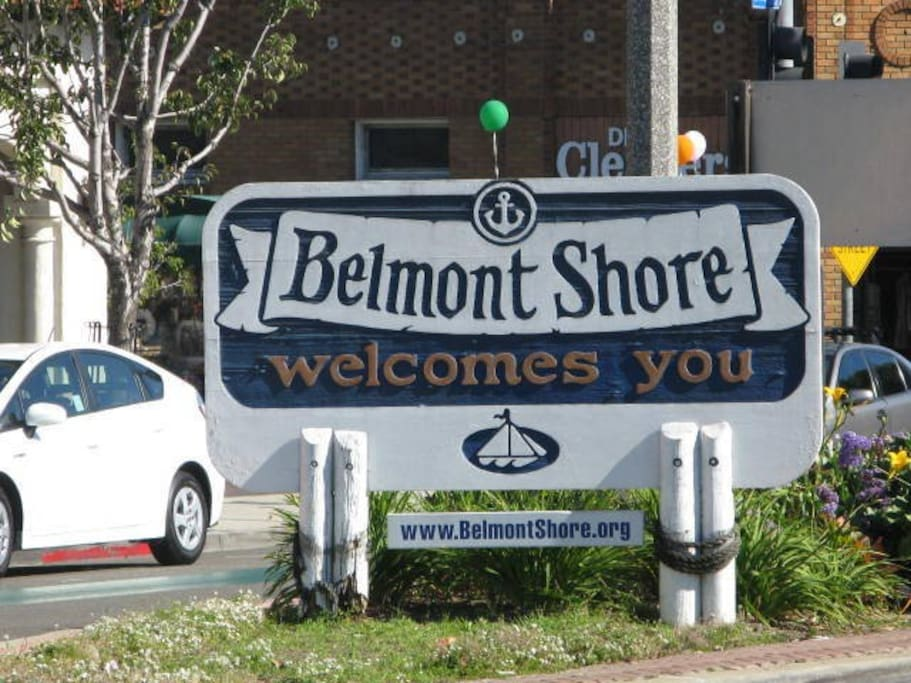 Welcome to Belmont Shore!