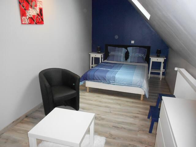 suite familiale à L ETOILE DE LA FONTCHEVRIERE - Neuvy-Saint-Sépulchre - Bed & Breakfast