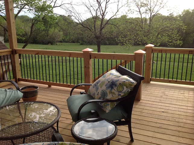 Peaceful Retreat close to Fort Leavenworth