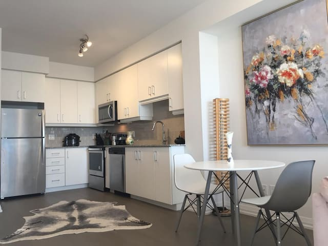 New modern condominium in uptown Waterloo