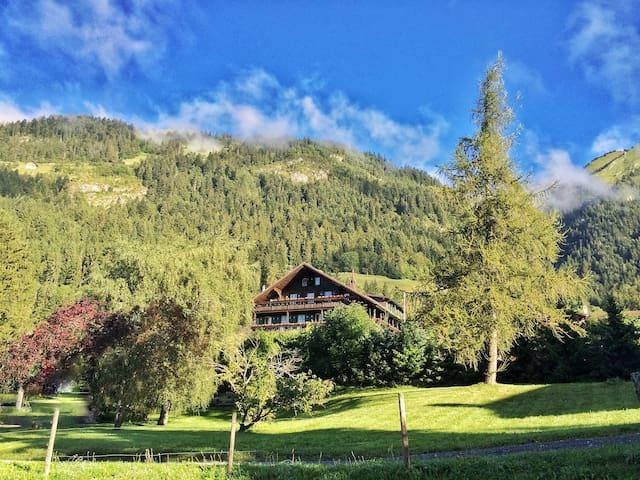 Le Vieux Chalet,Château-d'Oex:Authentically Swiss!