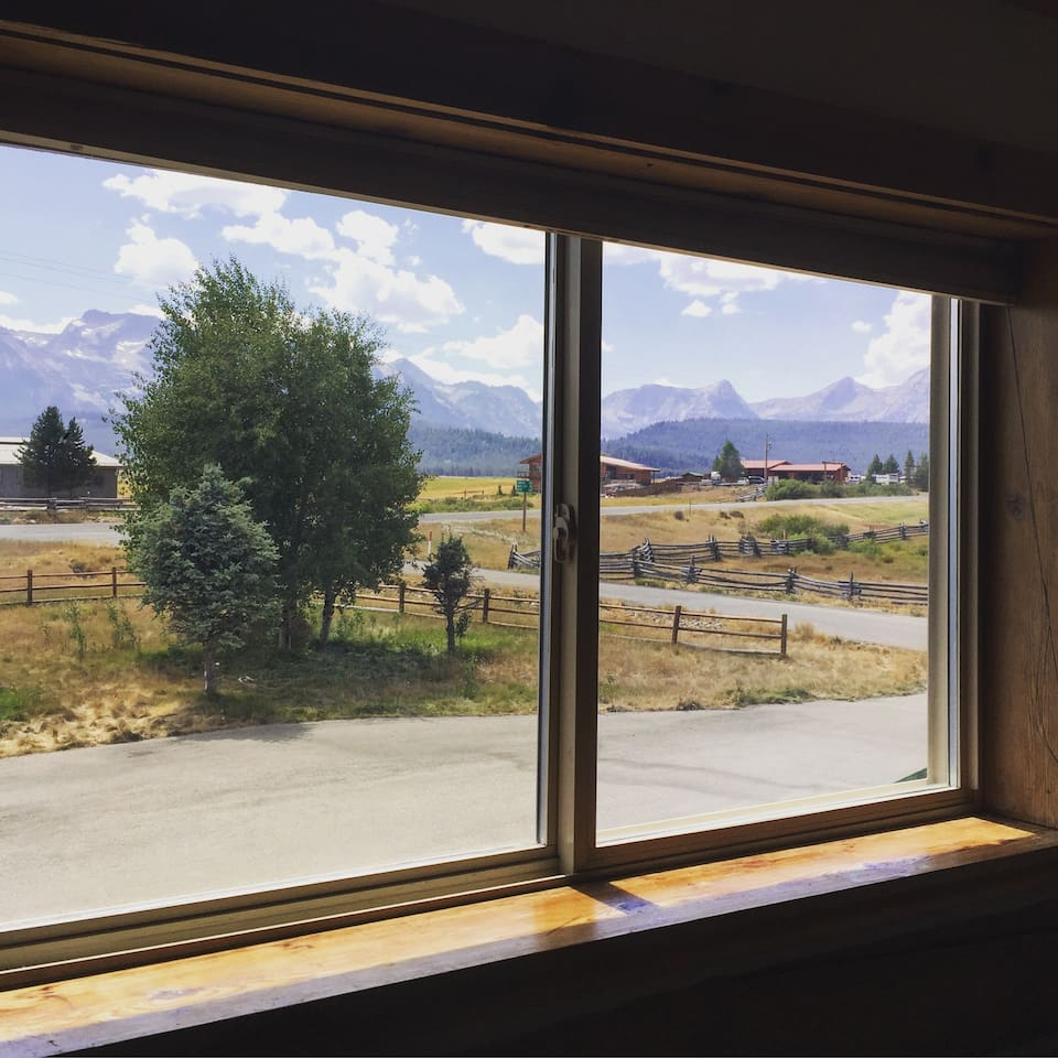 Sawtooth View from the Studio