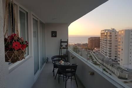 Sector cuatro esquinas, vista al mar