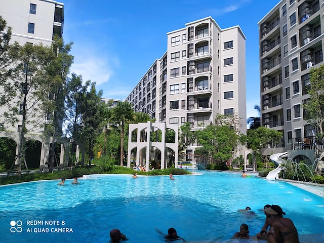 2 Bedroom In Center of Tourist attractions Hua Hin