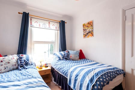 Near Beach Sandown IOW (Twin room) - Sandown
