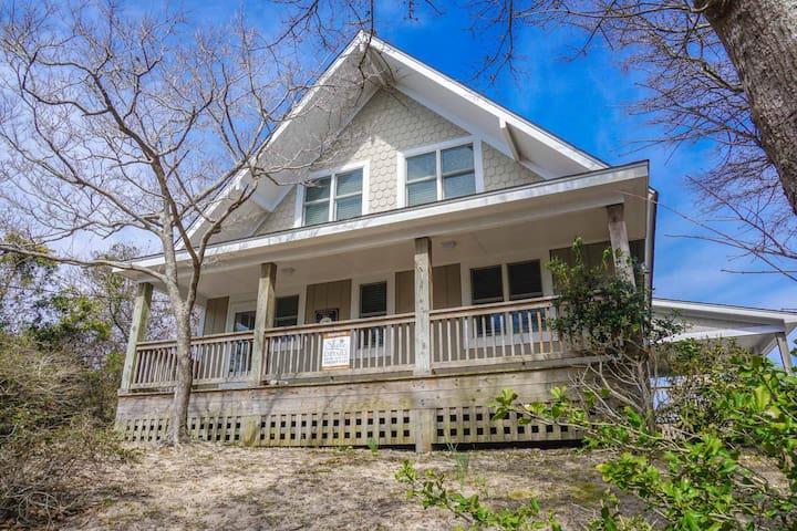 ALL OPEN WEEKS LOWERED 15%!  Sound Views w/ hot tub & screened porch!