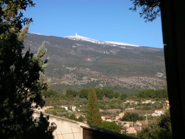 Gîte nature/Mt Ventoux/Provence /2P./OK chien