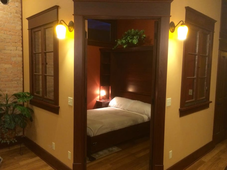 Office/bedroom with Murphy Bed