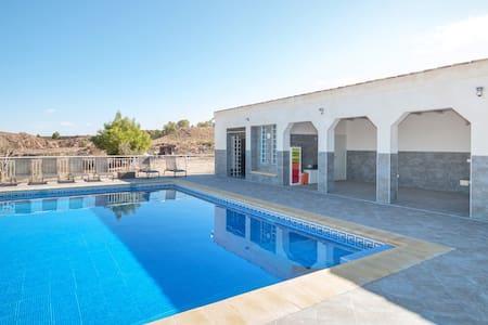 Grote vakantiewoning met zwembad in regio Murcia - Mula - 別墅
