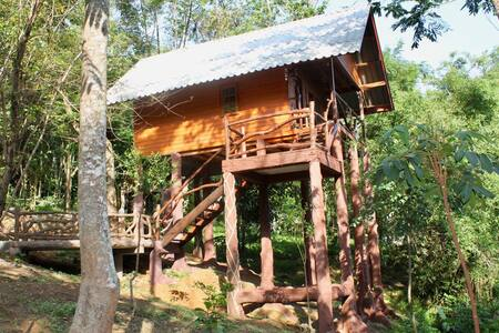 Dream hand crafted Tree House - Ko Yao Noi
