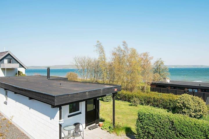Accogliente casa vacanze in Jutland con terrazza
