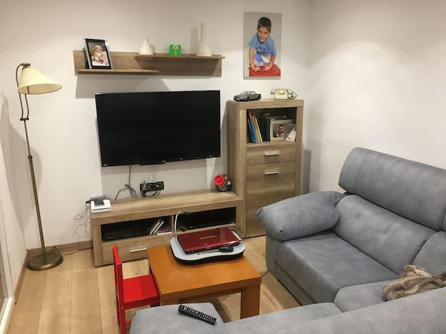 Una habitación doble junto a Villarejo