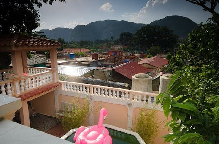 Beautiful house in Viñales with 4 bedrooms