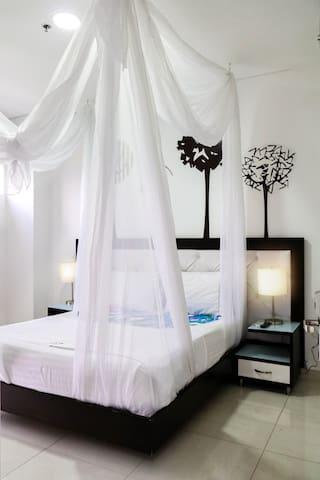 romantica y hermosa habitacion