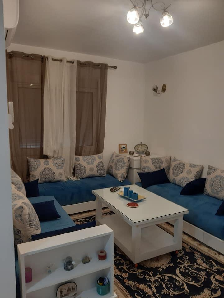 Appartement 2 chambres et salon  à louer à oujda